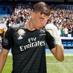 Andriy Lunin confía en ganarse un hueco en el próximo Real Madrid