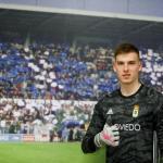 """Andriy Lunin, un """"fichaje"""" para evitar la relajación de Courtois"""