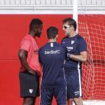 La mala forma física de Gnagnon lo deja fuera del Sevilla. Foto: Diario de Sevilla