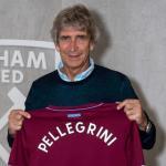 Manuel Pellegrini, entrenador del West Ham. Foto: Whufc.com