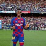 La Ligue 1 gana enteros para hacerse con Junior Firpo. Foto: FC Barcelona
