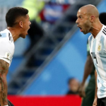 "Mascherano y Marcos Rojo esperan a River Plate ""Foto: MD"""