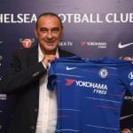 Maurizio Sarri en su presentación como técnico del Chelsea. Foto: Chelseafc.com