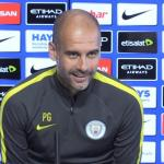 Pep Guardiola en rueda de prensa / Youtube