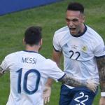 Messi bendice la llegada de Lautaro / Goal.com