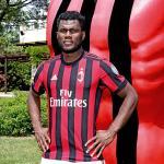 Franck Kessie, con el Milan / twitter