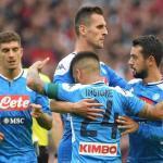 Las opciones que maneja el Inter de Milán para su delantera. FOTO: NAPOLI