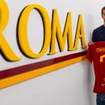 Mkhitaryan en su presentación con la Roma. / sopitas.com