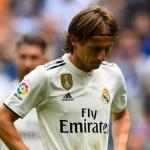 Luka Modric, con el Real Madrid / twitter