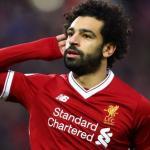 Mohamed Salah celebrando un gol con el Liverpool. Foto: Liverpoolfc.com