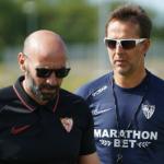 """Los laterales del Sevilla: ¿mala gestión de Monchi o pésima de Lopetegui? """"Foto: ABC de Sevilla"""""""