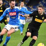 """El Nápoles cierra el fichaje de un descarte del Inter de Milán """"Foto: Antena 2"""""""