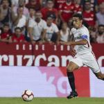 Jesús Navas en un partido con el Sevilla / elpais.es
