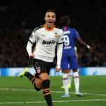 Rodrigo celebrando el gol ante el Chelsea. / elcomercio.pe