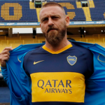 """Los números de Daniele De Rossi en Boca Juniors """"Foto: Olé"""""""