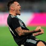 """El debut soñado de Lucas Ocampos con Argentina """"Foto: Correo Web"""""""