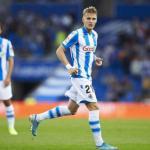 Martin Odegaard frena su regreso al Santiago Bernabéu   FOTO: REAL SOCIEDAD