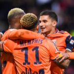 """""""Los tres futbolistas que saldrán del Olympique de Lyon. Foto: Getty Images"""""""