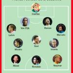 El polémico XI de la década de France Football | France Football