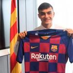 Pedri quiere que el FC Barcelona 'lo fiche'. Foto: FC Barcelona