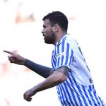 """""""El Nápoles se lanza por Andrea Petagna. Foto: Getty Images"""""""