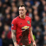 """Phil Jones, más fuera que dentro./ Foto: Getty Images"""