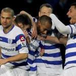 Los jugadores del QPR celebran un tanto/lainformacion.com/Getty Images