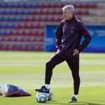 Quique Setién necesita refuerzos | FOTO: FC BARCELONA