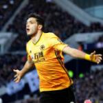 """""""El verano clave en la carrera futbolística de Raúl Jiménez. Foto: Getty Images"""""""