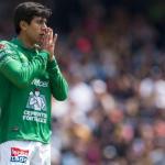 Macías en un partido con León. / futboltotal.com.mx