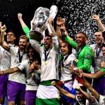 jugadores del Real Madrid celebrando la conquista de la Champions / Republica.com