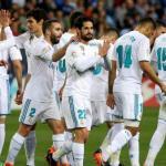 jugadores del Real Madrid celebrando un gol / 20 Minutos