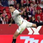 Ocampos en un partido con el Sevilla. / elconfidencial.com