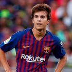 Riqui Puig, en el once joven del Barça