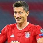"""Robert Lewandowski, por delante de Leo Messi, Cristiano Ronaldo, Erling Haaland y Kylian Mbappé """"Foto: Bundesliga.es"""""""