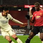 """Intercambio a la vista entre Roma y Manchester United """"Foto: Goal.com"""""""