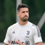 """""""La Juve no cuenta con Khedira para la próxima temporada. Foto: Getty Images"""""""