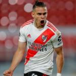 """Desde Argentina confirman el destino brasileño para Santos Borré """"Foto: TNT Sports"""""""
