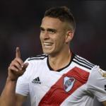 """Santos Borré habló de su futuro y la posibilidad de seguir en River """"Foto: TNT Sports"""""""