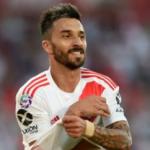 """¿Scocco se va de River Plate? """"Foto: Rosario"""""""