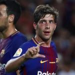 Sergi Roberto con ofertón para irse del Barcelona / Uefa.com