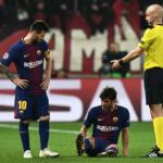 """Los problemas del Barça en los laterales """"Foto: Marca"""""""