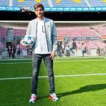 Sergi Roberto, con el Barcelona / twitter