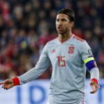 Sergio Ramos traslada sus bajos rendimientos a la selección. FOTO: RFEF