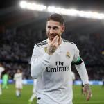 Sergio Ramos, celebrando un gol / twitter