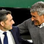 Sale Valverde y entra Setién / Eldesmarque.com