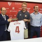 Simon Kjaer se marcha del Sevilla / Sevillafc.es