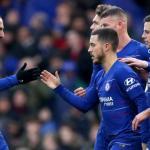 Jugadores del Chelsea celebran un gol / Sky