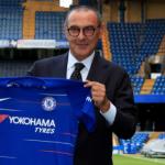 Maurizio Sarri, el día de su presentación / Chelsea.