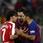Suárez y Joao, de rivales a compañeros.